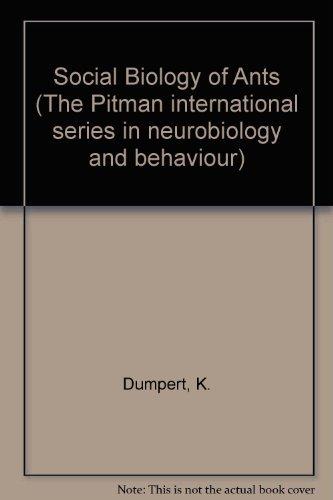 The Social Biology of Ants;: Dumpert, K. (Translator Johnson, C.).