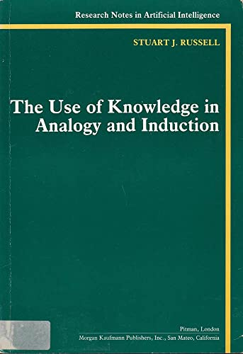 9780273088141: Use of Analogy and Induction (Research Notes in Artificial Intelligence)