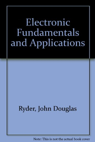 9780273314912: Electronic Fundamentals and Applications