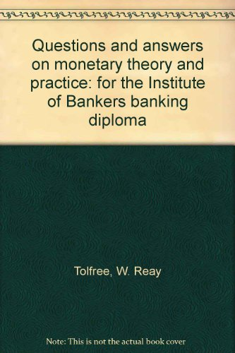 9780273315810: Questions and Answers on Monetary Theory and Practice
