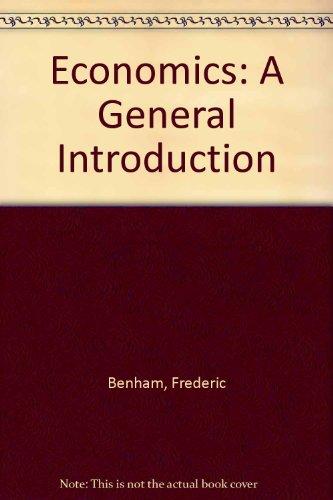 9780273316305: Economics: A General Introduction