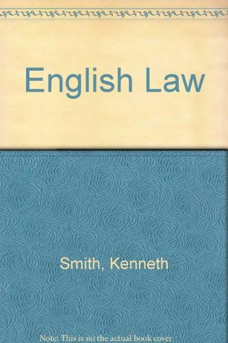 9780273317432: English Law