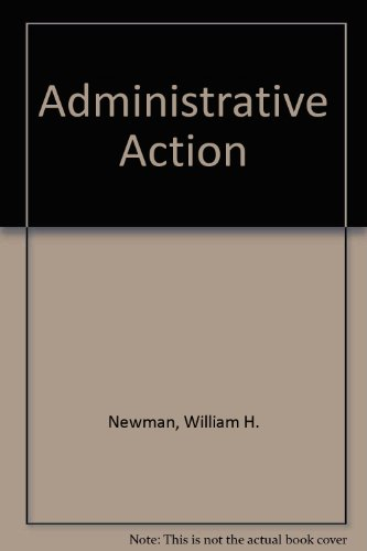 9780273400219: Administrative Action