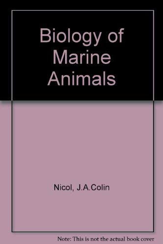 9780273402992: Biology of Marine Animals