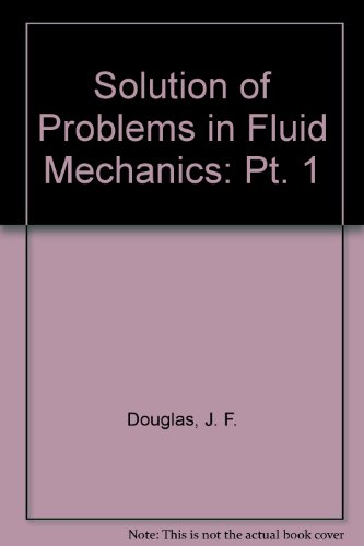 9780273404316: Solution of Problems in Fluid Mechanics: Pt. 1