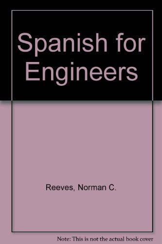 9780273410591: Spanish for Engineers
