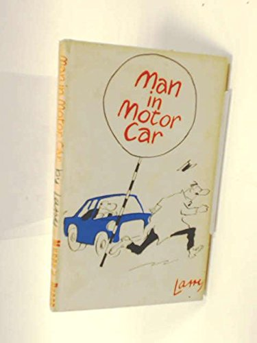 Man in motor car: Larry