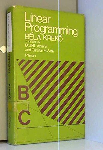 9780273414575: Linear Programming