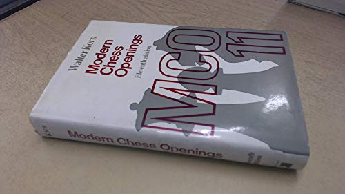9780273418450: Modern Chess Openings