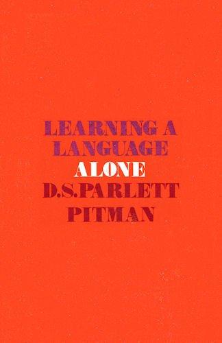 9780273420491: LEARNING A LANGUAGE ALONE