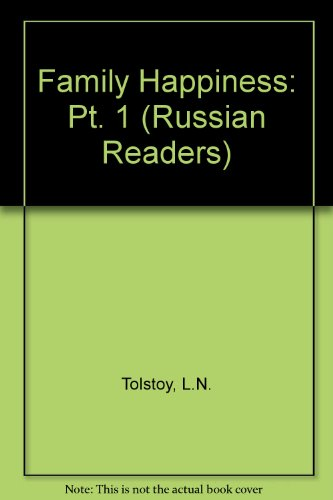 9780273428114: Family Happiness: Pt. 1 (Russian Readers)