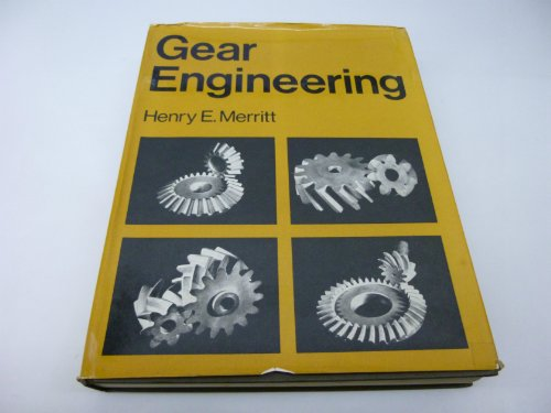 9780273429777: Gear Engineering