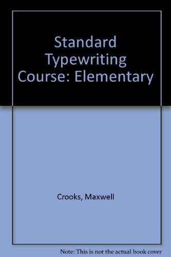 Standard Typewriting Course (elementary)