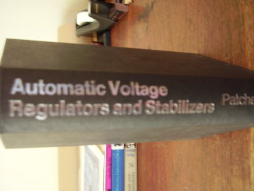 9780273437888: Automatic Voltage Regulators and Stabilizers