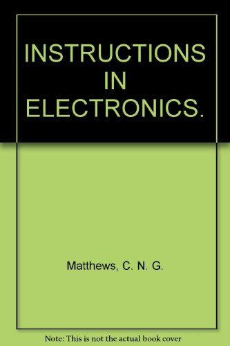 9780273487494: Instructions in Electronics (Brompton Library)