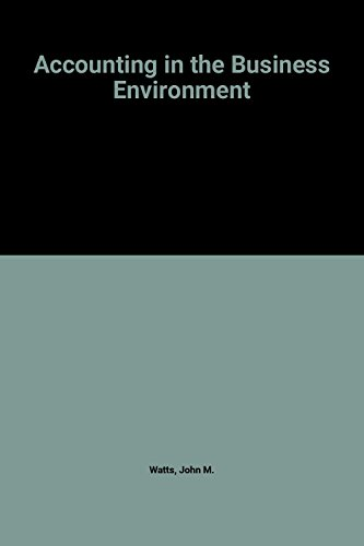 9780273601111: Accounting in the Business Environment