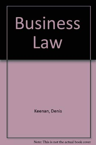 9780273601142: Business Law
