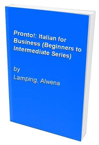 9780273601388: Pronto!: Italian for Business (Beginners to Intermediate Series)