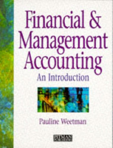 9780273602934: Financial and Management Accounting: An Introduction