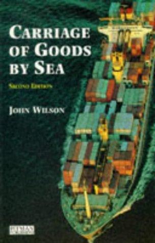 9780273602941: Carriage of Goods by Sea