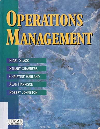 9780273603160: OPERATIONS MANAGEMENT