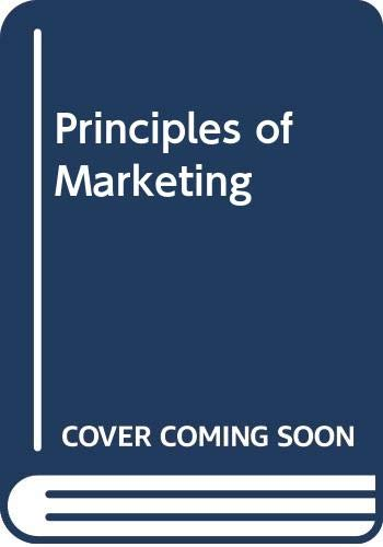 9780273605133: Principles of Marketing