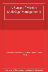 9780273605348: A Sense of Mission (Ashridge Management)