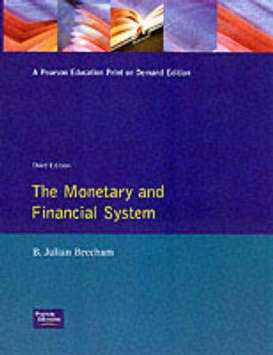 9780273605546: The Monetary and Financial System (CIB Associateship)