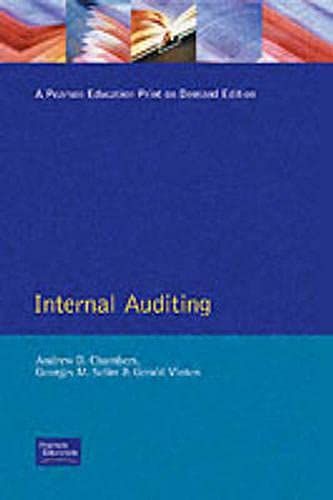 Internal Auditing: Theory and Practice: Chambers, A. D.