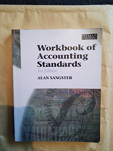 Workbook of Accounting Standards (0273614207) by Alan Sangster