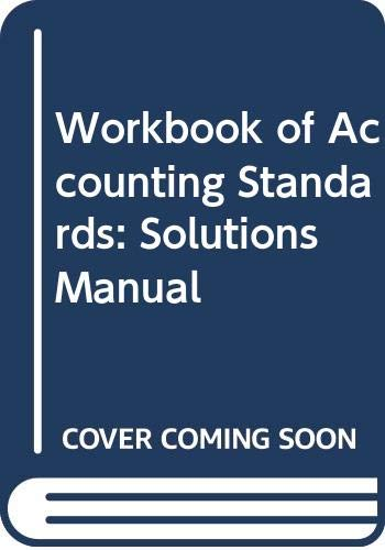 9780273614210: Workbook of Accounting Standards