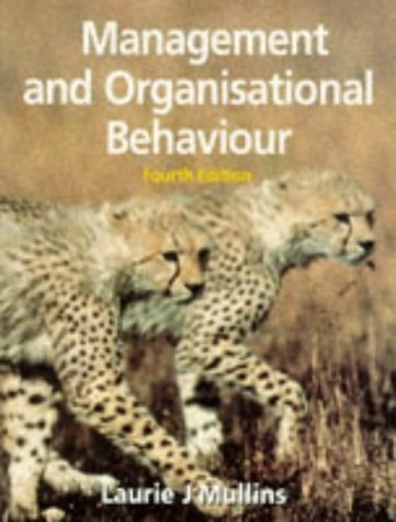 9780273615989: Management and Organisational Behaviour