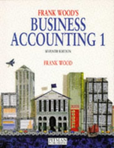 9780273619802: Business Accounting: v. 1