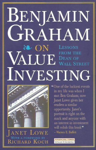 "9780273622147: Benjamin Graham on Value Investing: Lessons from the Dean of Wall Street (""Financial Times"" Investment Insight)"