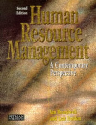 9780273622307: Human Resources Management: A Contemporary Perspective