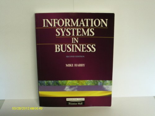 Information Systems in Business: Harry, Mike