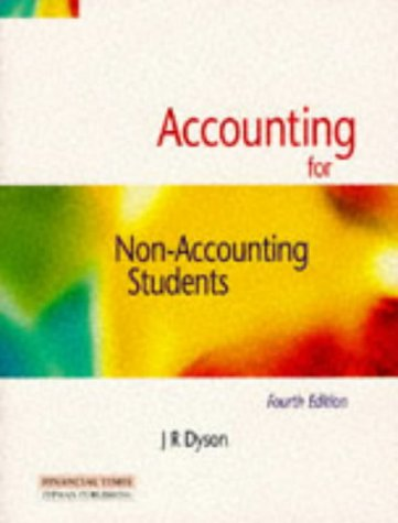 9780273625759: Accounting for Non Accounting Students