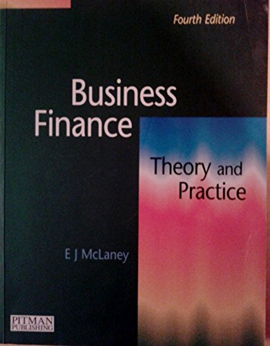 9780273626947: Business Finance: Theory and Practice