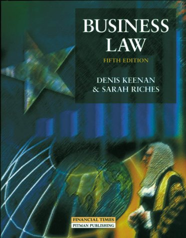 9780273631507: Business Law