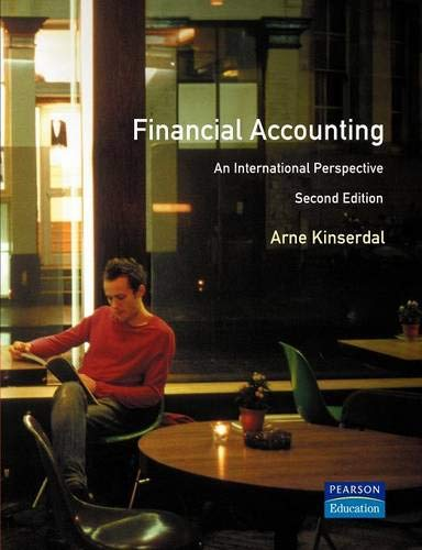9780273631545: Financial Accounting: An International Perspective