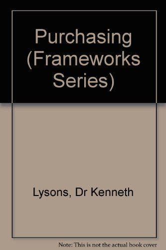 Purchasing (Frameworks S.): KENNETH LYSONS