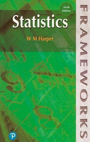Statistics: W. M. Harper