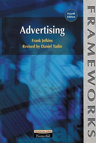 9780273634355: Advertising (Frameworks)