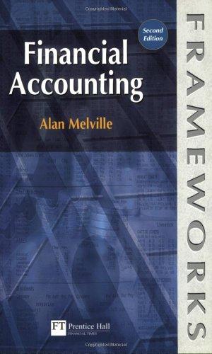 9780273634393: Financial Accounting (Frameworks Series)