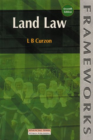 9780273634409: Land Law (Frameworks Series)