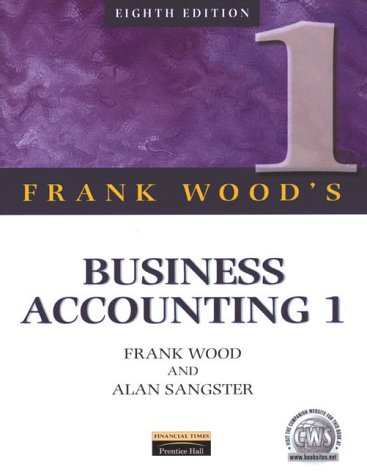 9780273637424: Business Accounting 1 (v. 1)