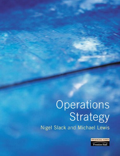 9780273637813: Operations Strategy