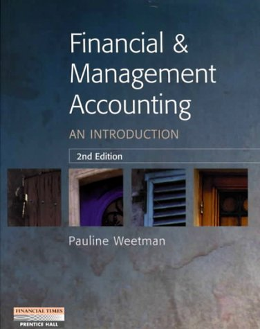 9780273638360: Financial and Management Accounting: An Introduction