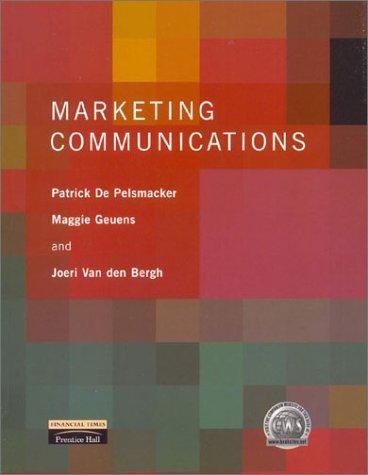 9780273638711: Marketing Communications