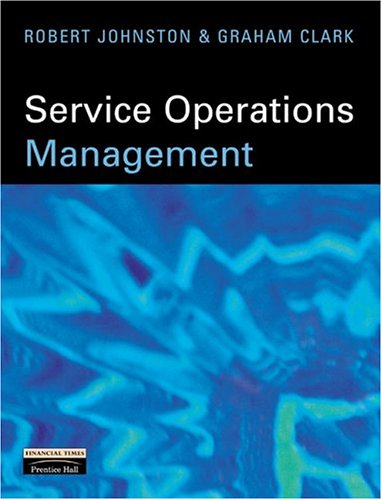 9780273639220: Service Operations Management